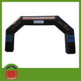 Durable 8m PVC Tarpaulin Black Inflatable Arch for Promotion