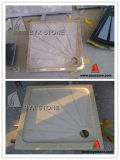 Beige Marble Show Tray for Bathroom