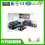 Modern Leather Office Sofa Set (OF-02)