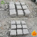 G603 Grey Granite Paving Cube Stone Outdoor Paving Brick Driveway Paving Cube Stone