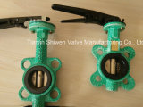 Handle Operate Wafer Butterfly Valve with Pin (D71X-10/16)