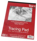 "Tracing Pad, 9""X12"", 100 Sheets"