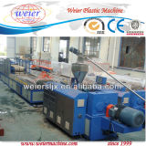 Decking Floor Profiles Wood Plastic WPC Extrusion Line