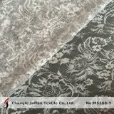 Flower Lurex Lace Fabric for Evening Dress (M5288-Y)