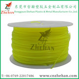 Plastic Filament Transparent Yellow Color ABS Printing Filament 1kg/Rolls in 1.75mm/3.00mm
