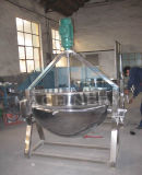Stainless Steel Vertical Electric Jacketed Kettle Food (ACE-JCG-M4)