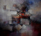 Oil Painting of Abstract-14