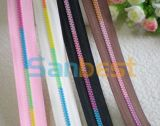High Quality Fashion Beautiful Resin Zipper