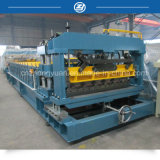 Double Hydraulic Cylinders Tile Roll Forming Machine