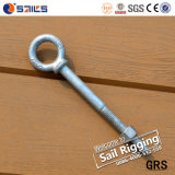 Long Stub HDG Carbon Steel Eye Bolt with Wing G277
