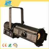 Die-Cast Aluminum LED Ellipsoidal Spotlight for Theater
