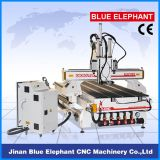 Woodworking Vacuum Bed CNC Router Machine, 1325 Auto Matic Tool Change CNC Router with Three Spindles