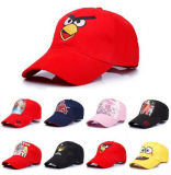Custom Cartoon Figuer Logo Embroideried Baseball Cap, Sport Cap, Summer Cap, in Various Material, Size and Design