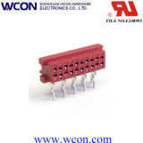 1.27mm Micro Match 10p Female 90 ° Red Lug