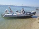 Liya 20ft China Rib Boats Inflatable Rubber Motor Boat Rib Boat Manufacturers