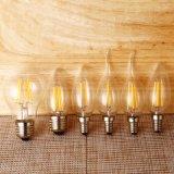 E27 E14 220V Candle LED Filament Bulb Retro Incandescent Light