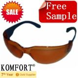 Free Sample Brown Eye Protection Safety Glasses (JMC-311D)
