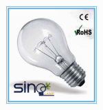25/40/60/75/100W Clear Incandescent Lamp