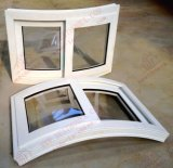 Professional Supplier of UPVC Curved Sliding Window (BHP-SWA06)