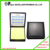 Promotional Logo Customized Sticky Note with Leather Cover (EP-H9129)