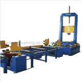 H I Beam Profile Steel Welding Production Line Assembly Machine