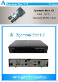 Update Version Zgemma Star H2 Original Enigma2 Combo DVB-S2+T2 Satellite Receiver Better Than Cloud Ibox 3