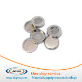Meshed Cr2032 Coin Cells Cases (20d X 3.2mm) with Seal O-Rings for Lithium Air Battery Research - 10PCS/Pck-- Cr2032-Case-304-Mesh