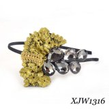 Fashion Hair Jewelry/ Hair Band/Beads Headband (XJW1316)