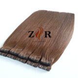 100% Peruvian Remy Human Hair Extension Tape in PU Hair Extension