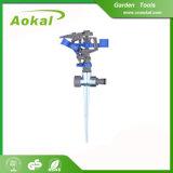 "Sprinkler Irrigation Equipment Metal Spike 1/2""Plastic Impulse Sprinkler"