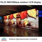 P6.25 Die Cast Outdoor Rental LED Screen Board for Stage