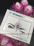 Jewelry Skin Safe Party Eye Stickers White Studs Body Jewels Face Tatto Stickers (S065)