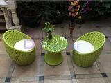 Creative Outdoor Garden Living Room Bedroom Rattan Chrysanthemum Flower Chair