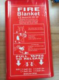 Fire Prevention 3732 Soft Pouch Fire Blankets Fiberglass Fire Blanket