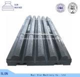 Manganese Steel Sandvik Cj615 Jaw Crusher Parts Tooth / Jaw Plate