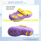 Colorful Classic Two Tone Double Color Kids Hole EVA Clogs Shoes