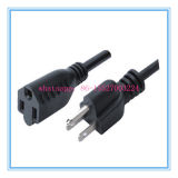 American 3 Pin AC Power Cord