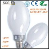 High Pressure Mercury Vapour Lamp Ce RoHS Approved