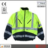 Men′s High Visibility Safety 3 in 1 Bomber Jacket