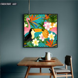 Modern Canvas Prints of Flowers and Birds