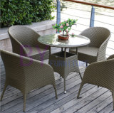 Wicker PE Rattan Outdoor Restaurant Dining Set