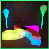 LED Bend Stools Bend Cubes Colorful Cube Chairs with Cushion