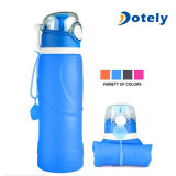 Silicone Collapsible Water Bottle 26oz for Sports Outdoors