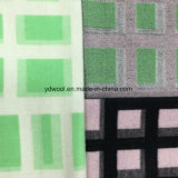 Stereoscopic Check Wool Fabric for Overcoat