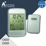 Indoor Outdoor Weather Station Digtiatl Clock with Temperature and Humidity