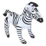 China Customized PVC Animal Inflatable Zebra Toy for Kids