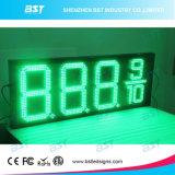 Outdoor Weatherproof LED Gas Price Changer Sign (Green)