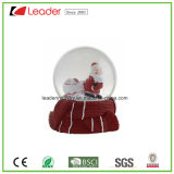 Polyresin Christmas Gift Snow Globe with Santa for Souvenir and Promotional Gifts