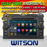 Witson Android 5.1 System Car DVD for Toyota Prado (W2-F9129T)