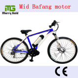 Front or MID Drive 8 Fun Brushless Motor Electric Bike with Samsung Lithium Battery